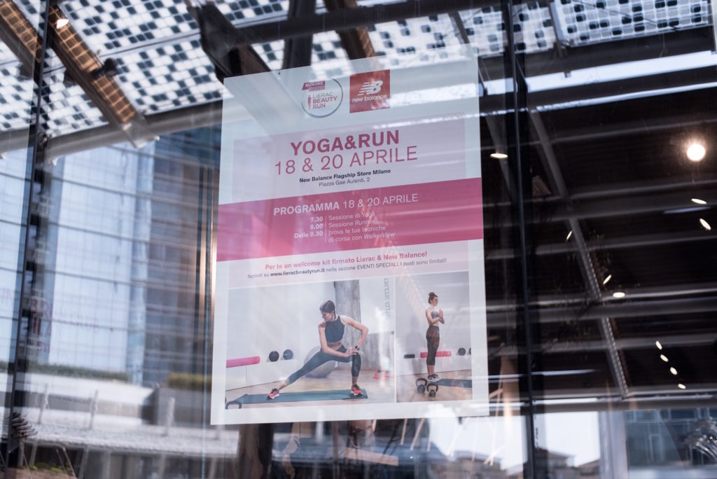 Yoga & Run – Run4Me Lierac Design Week