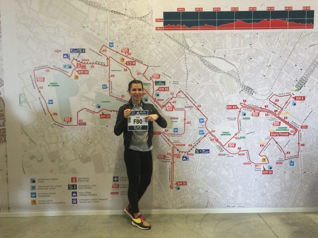 La mia Milano Marathon