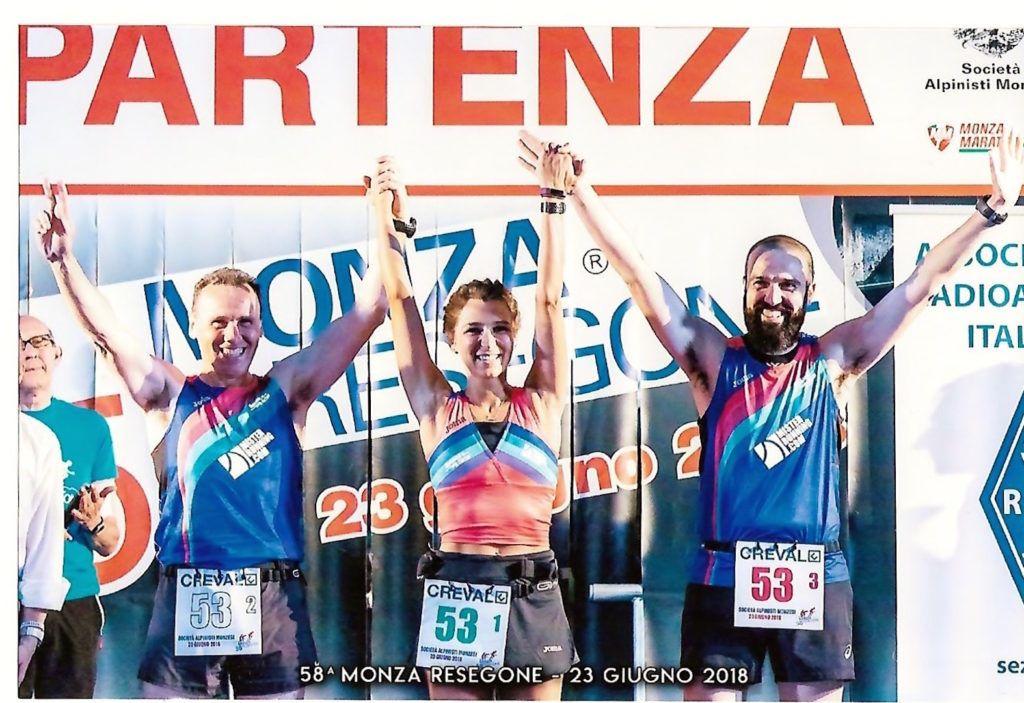 Tre amici e una sfida: Monza Resegone 2018