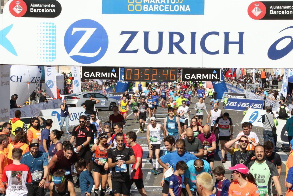 Io, la maratona e Barcellona