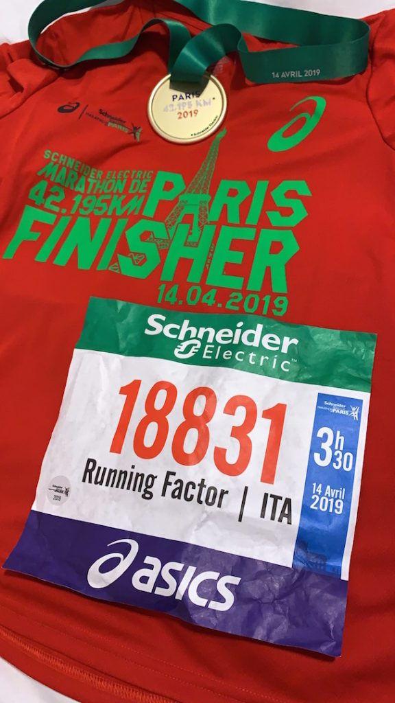 Road to Passatore: secondo lungo alla Paris marathon