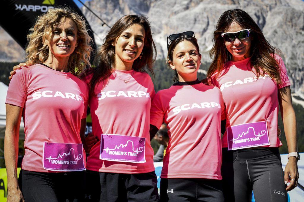 Al via la prima edizione del Women's Trail a Cortina